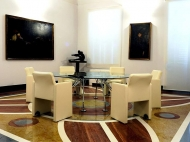 Decorazioni pavimento – Fondazione Cassa di Risparmio – Macerata